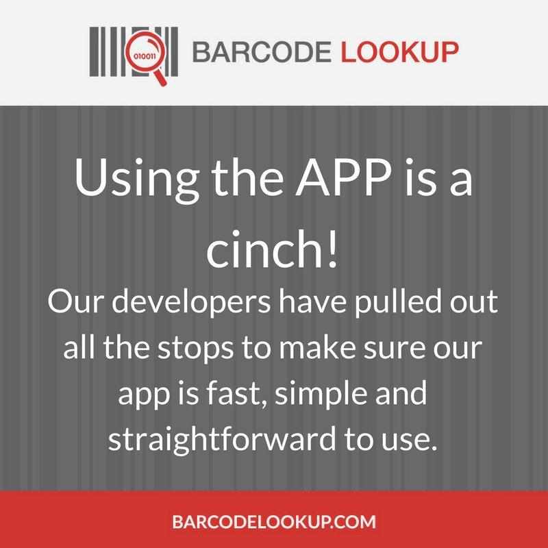 Barcode Lookup App