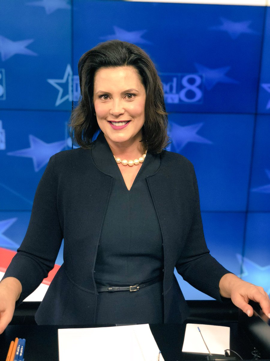 Governor Gretchen Whitmer On Twitter All Ready For The Woodtv Migovdebate