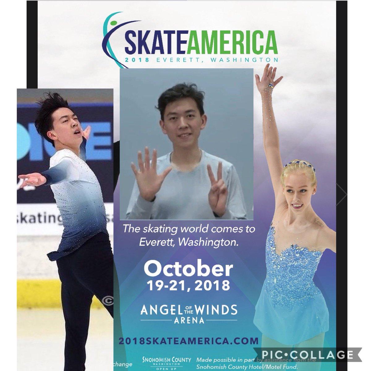 GP - 1 этап. Oct 19 - Oct 21 2018  Skate America, Everett, WA /USA DpW0Jx8U0AAA8H-