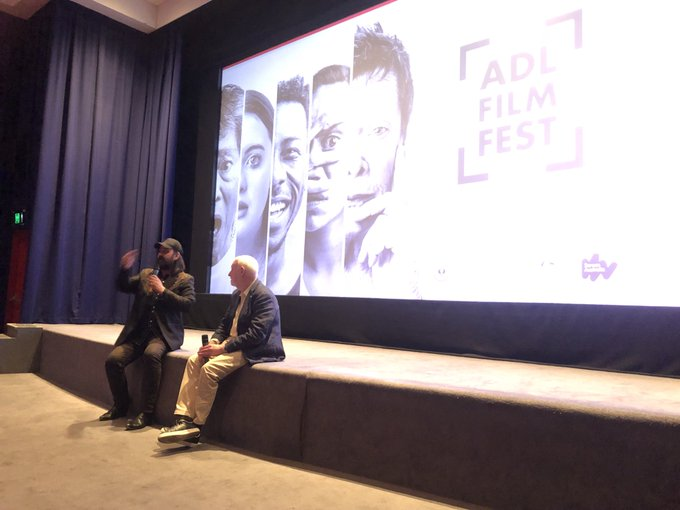 Warwick Thornton in conversation with David Stratton after the special #ADLFF screening of Samson & Delilah Photo