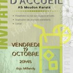 Image for the Tweet beginning: C'est bientôt vendredi 19 octobre