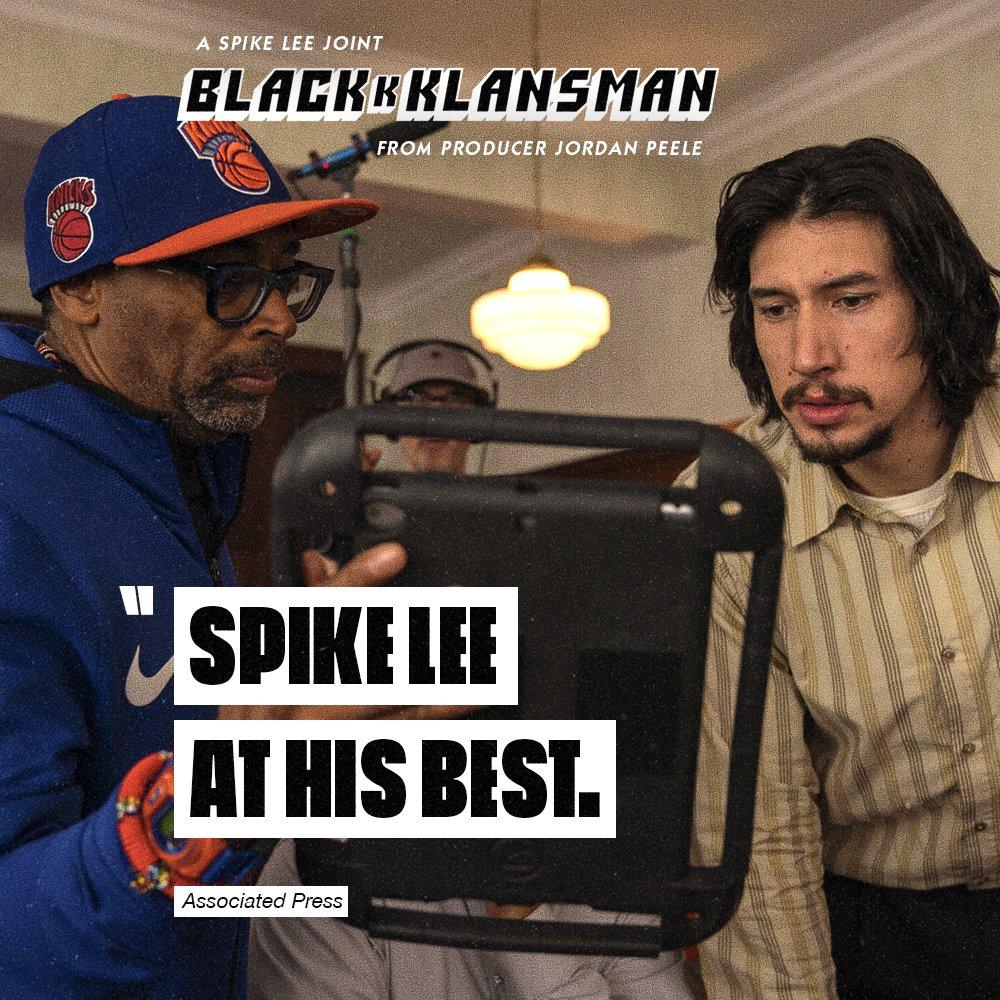 Spike is back, ya dig? #BlacKkKlansman available on Digital 10/23 and Blu-ray 11/6  http:// uni.pictures/Blackkklansman  &nbsp;  <br>http://pic.twitter.com/mbLVPWAAV6