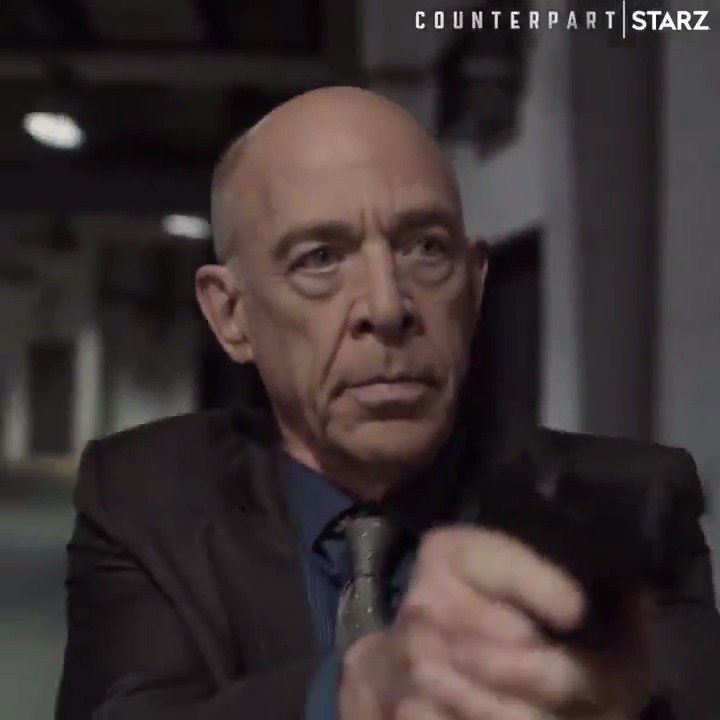 Their world has been conspiring. Our world has been compromised. #Counterpart Season 2 returns to @STARZ on December 9. starz.tv/WatchCounterpa…