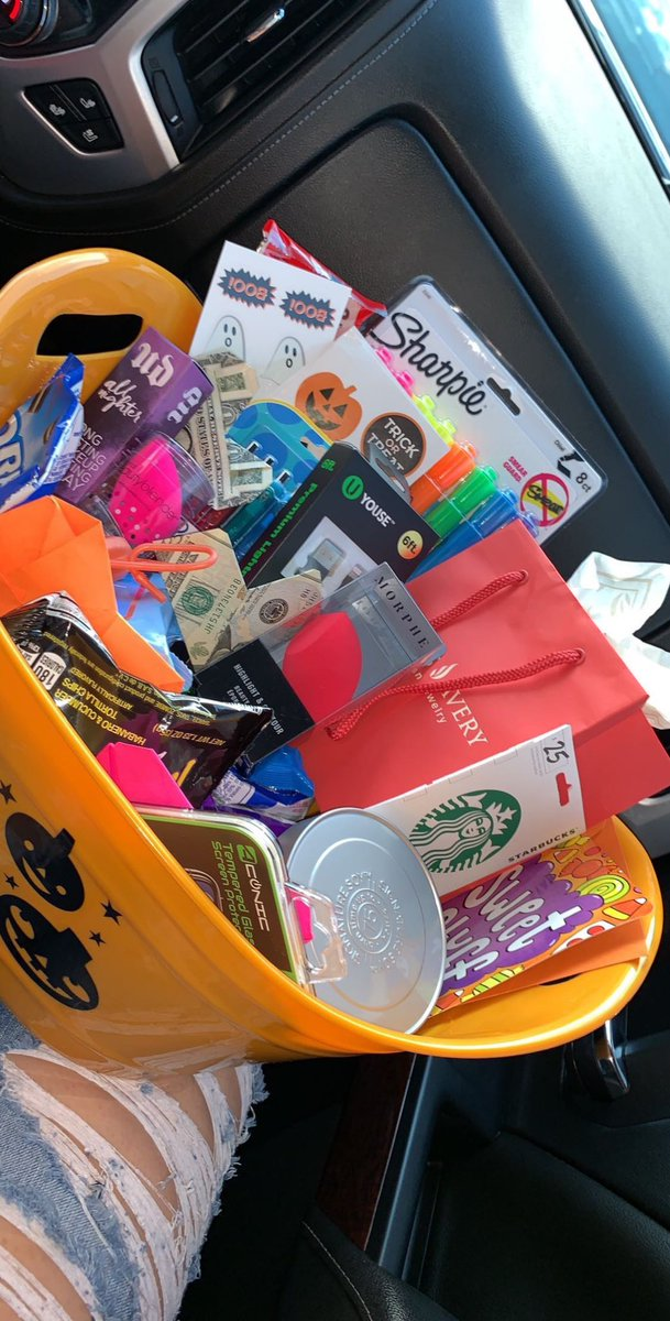 WHAT TO PUT IN YOUR GIRLS SPOOKY BASKET: A THREAD