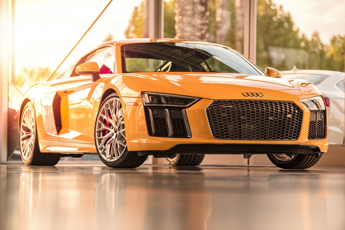 Justin On Twitter Soooo Audi Audiofficial Audisport What Do You All Think Of My Pic Of This 2018 Audi R8 In Vegas Yellow For Sale At Audi Fresno Audi R8 Tonystark Ironman