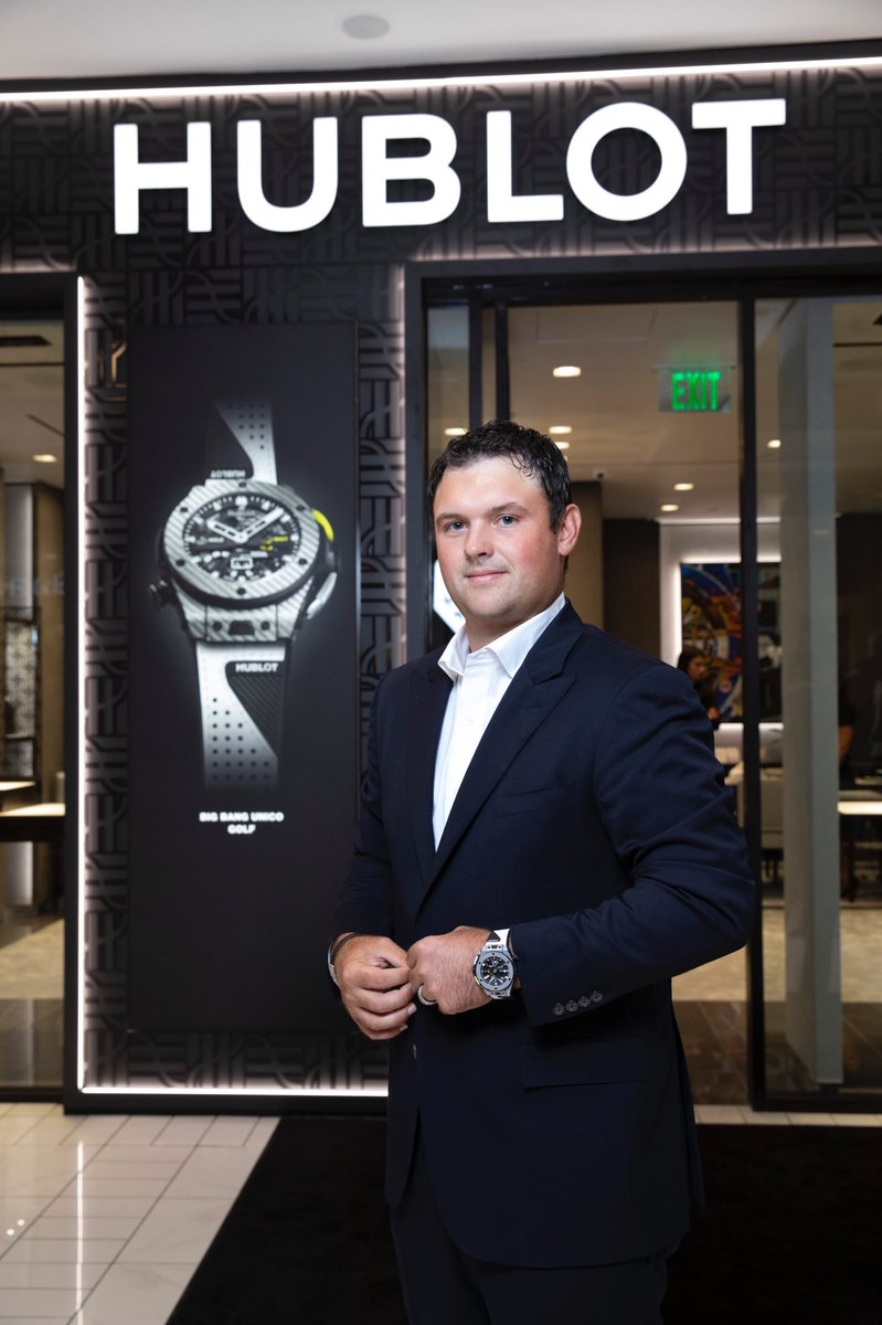 Thank you so much to @Hublot for such a great time last night and check-out the re-design of the Hublot Boutique at the @HoustonGalleria #bigbangunicogolf #hublot