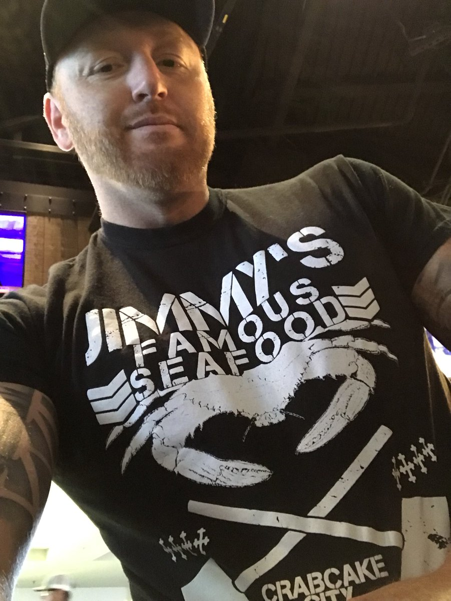 Oh Baby!!! Check out the new @JimmysSeafood gear. #bestfood #Baltimore #goodpeople
