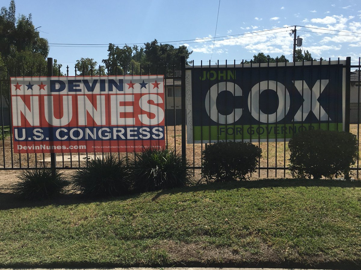 Fresno business supports John Cox for Gov and Devin Nunes for Congress! <br>http://pic.twitter.com/V4Jj4dcP38