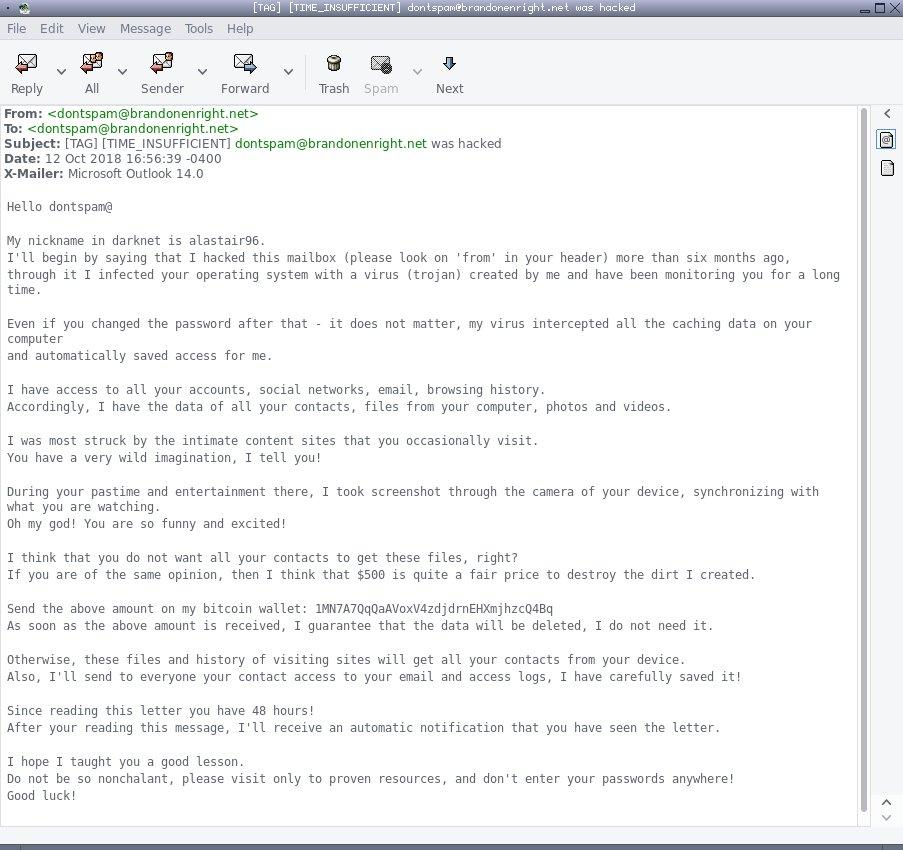 darknet email hack