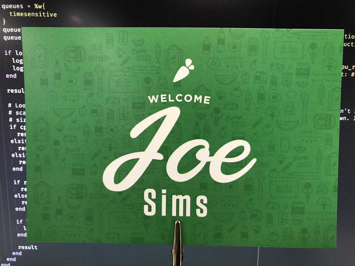 Joe Sims (@joesims) | Twitter