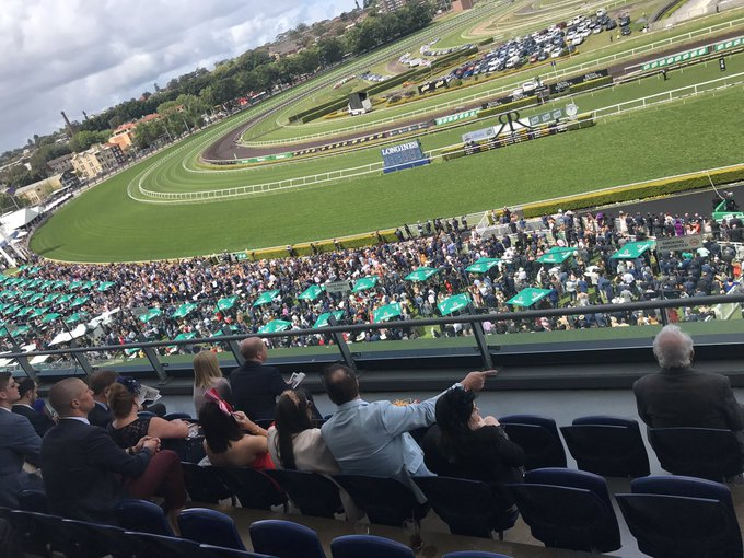Biggest crowd I've ever seen at @atc_races Randwick. #Everest Photo