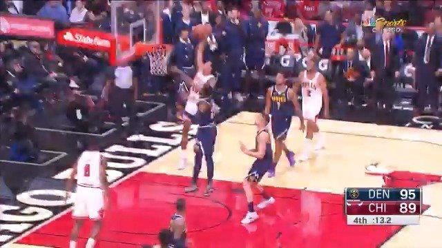 Chandler Hutchison rack attack! #NBARooks #NBAPreseason https://t.co/mxovbov9n0
