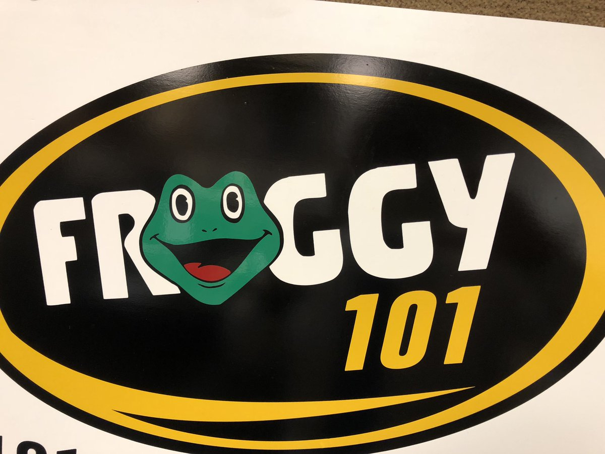 It was a great morning and had the chance to speak with some of his great audience checkout the froggy 101 facebook page