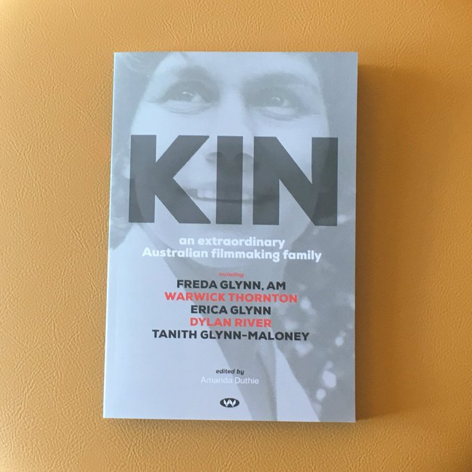 Here's a sneak peek of KIN, an incredible book about an extraordinary screen family. You can purchase it at #ADLFF after the Premiere of She Who Must Be Loved, as well as other Don Dunstan publications 💛 Photo