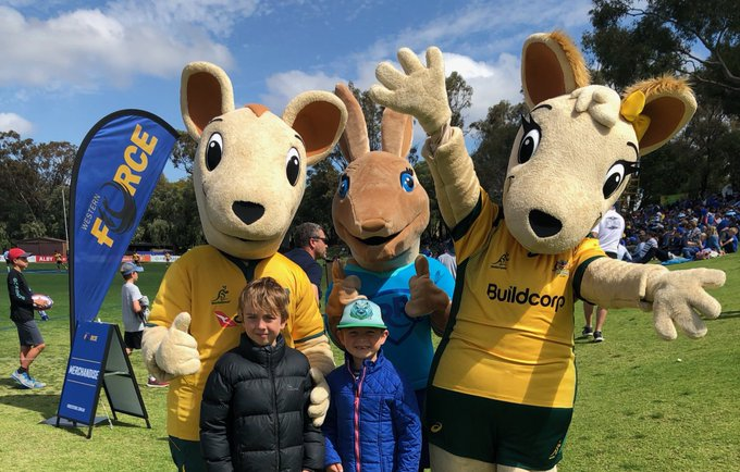 Thanks for having us Perth! We had a blast down at UWA Sports Park today for #NRC18. 😃 Photo
