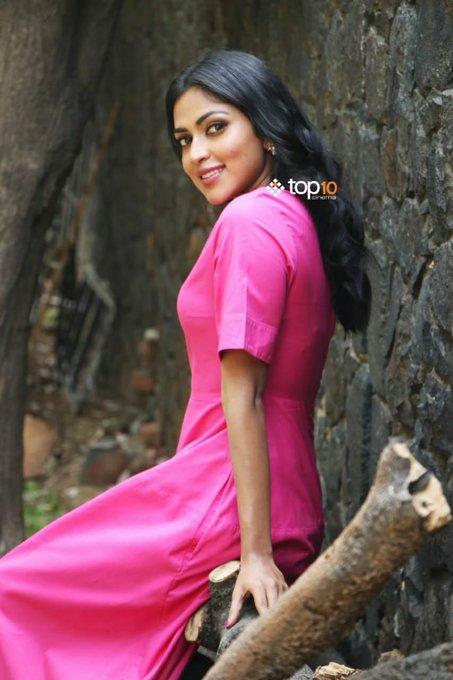 A pretty @Amala_ams at #RatsasanSuccessMeet PC: @top10cinema Photo