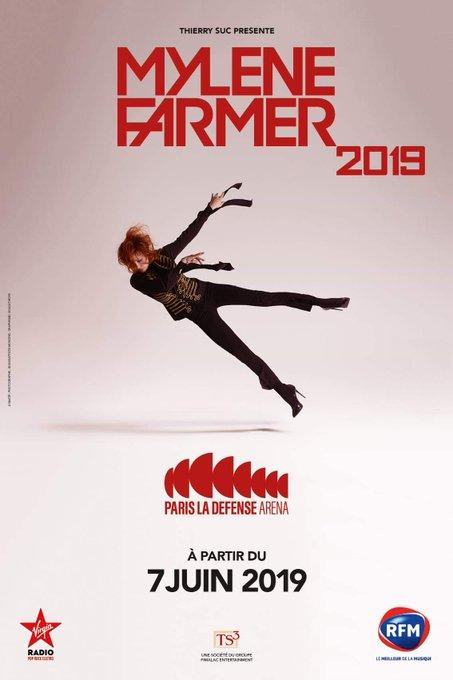 #MylèneFarmer à @ParisLaDefArena à partir du 7 juin pour 6 concerts exceptionnels ! BILLETTERIE OUVERTE sur Photo