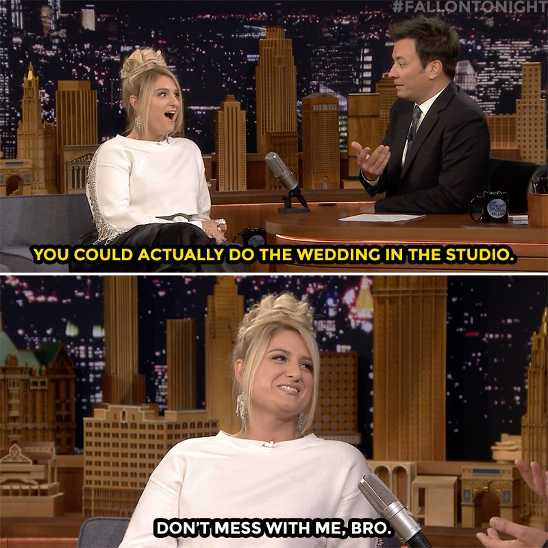 Jimmy has big plans for @Meghan_Trainor's wedding! #FallonTonight youtube.com/watch?v=g_rijX…