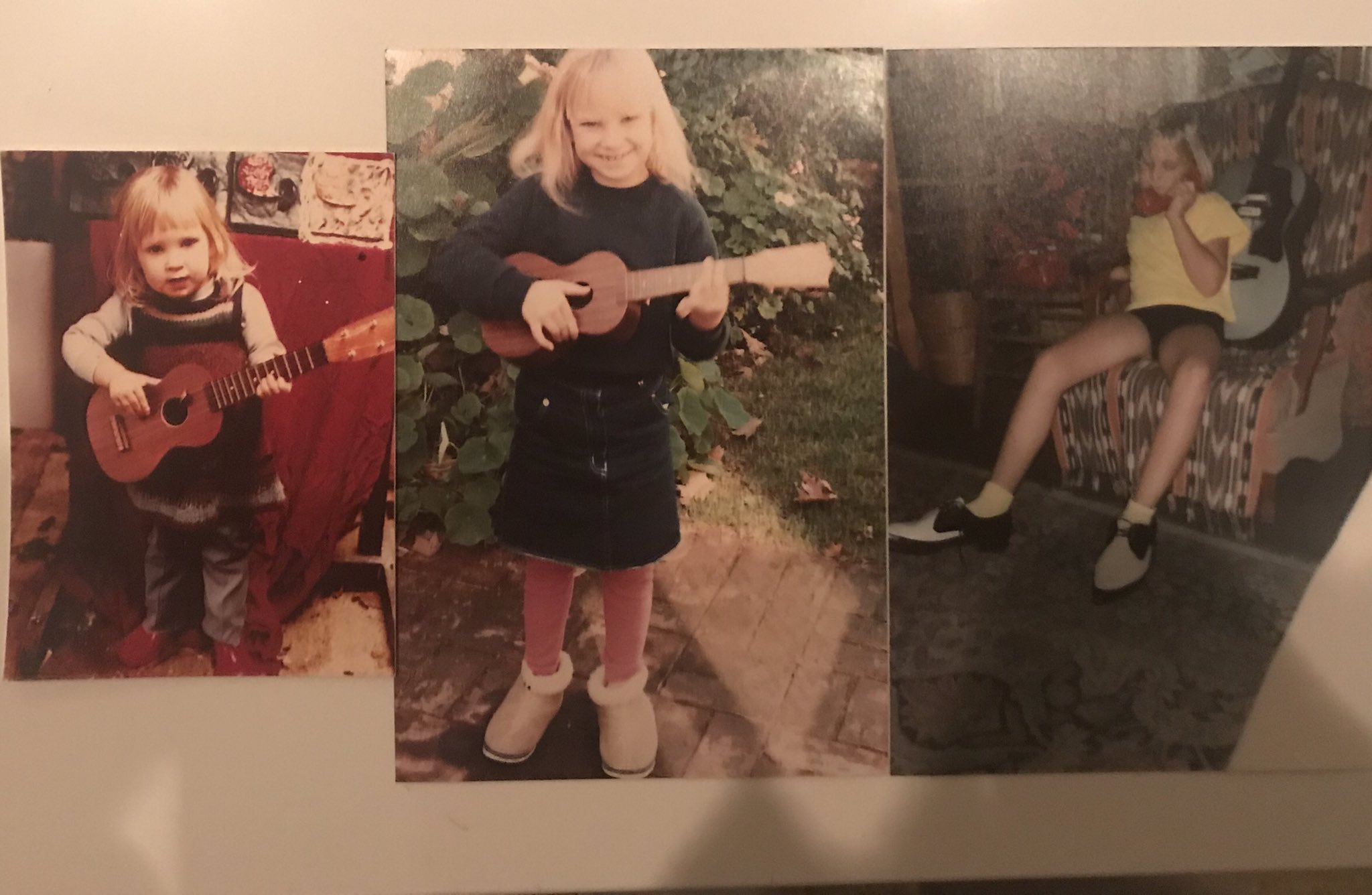 I literally have no idea how to play any instruments at all. Apparently I used to? https://t.co/b1SyiVteun