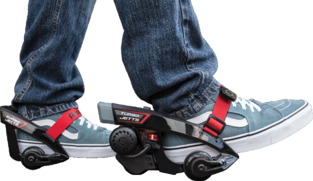 『ボトムズ』みたいに地上を高速移動したいって夢、叶えます。靴に装着する電動モーター「Razor Turbo Jetts」 #ガジェット #乗り物 https://t.co/oMlbeh8Ldj