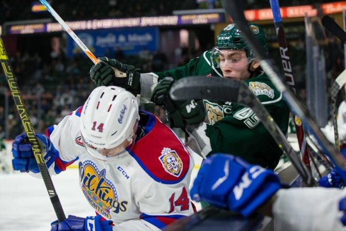 Tips flood the Oil Kings with 44 shots as the boys defeat Edmonton, 5-3. RECAP 🗞️ | Photo