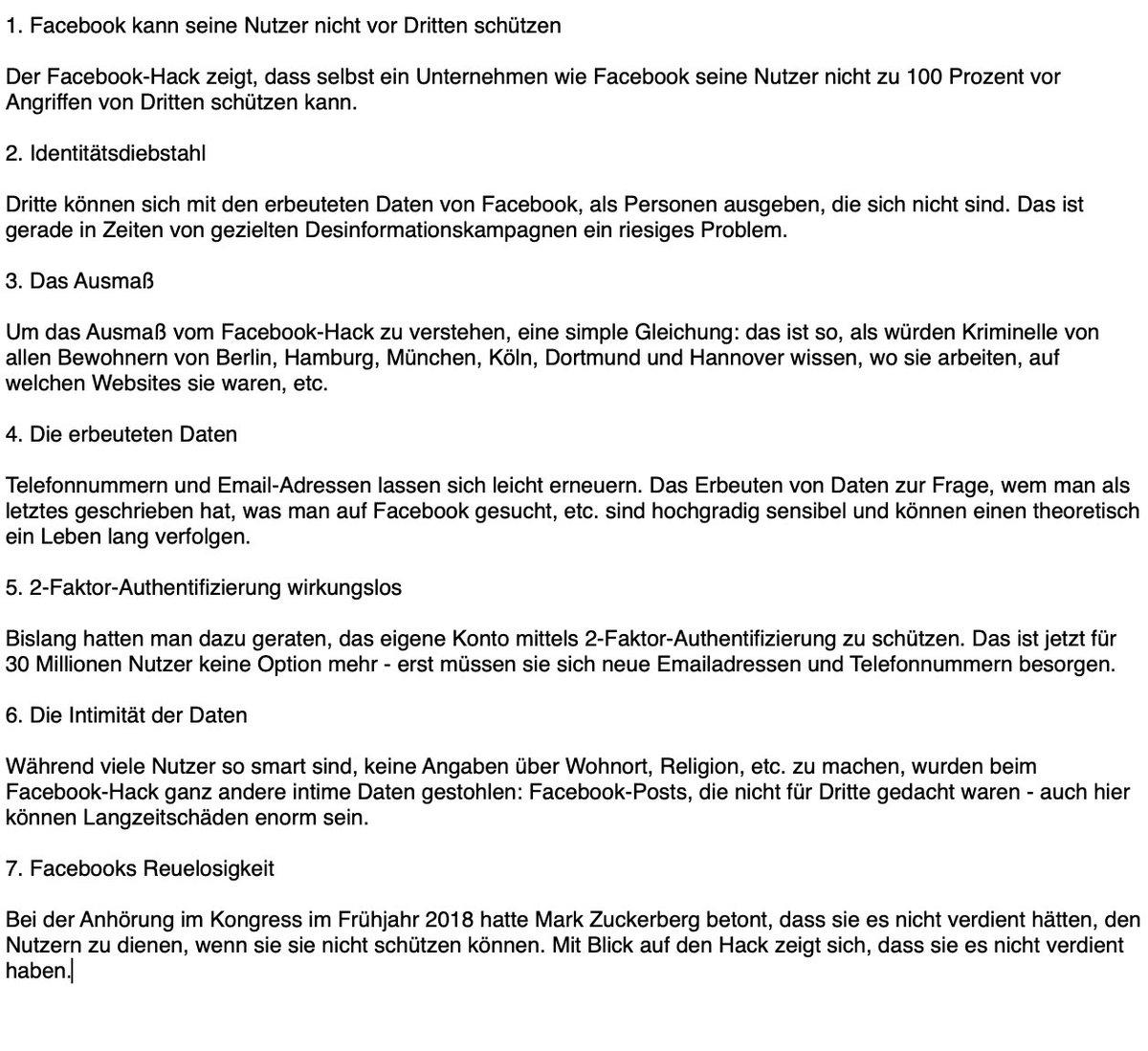 Martinfehrensen On Twitter Warum Der Facebook Hack So Krass Ist