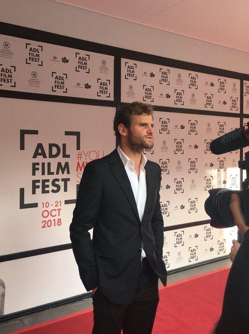 Michael Sheasby at The Nightingale's Australian Premiere #ADLFF Photo