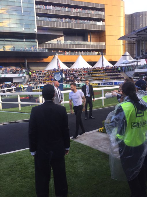 Can guarantee @LiamPayne is here @royalrandwick for #TheEverest day & ready to perform Photo