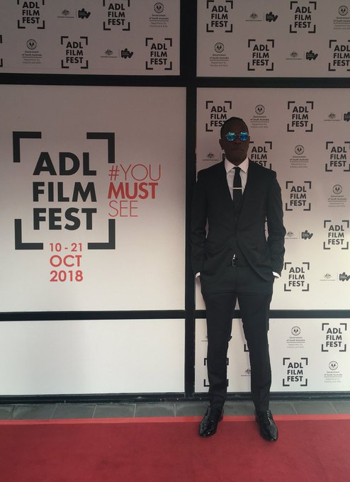 Baykali Ganambarr has arrived at #ADLFF for the Australian Premiere of The Nightingale ✨✨✨ Photo