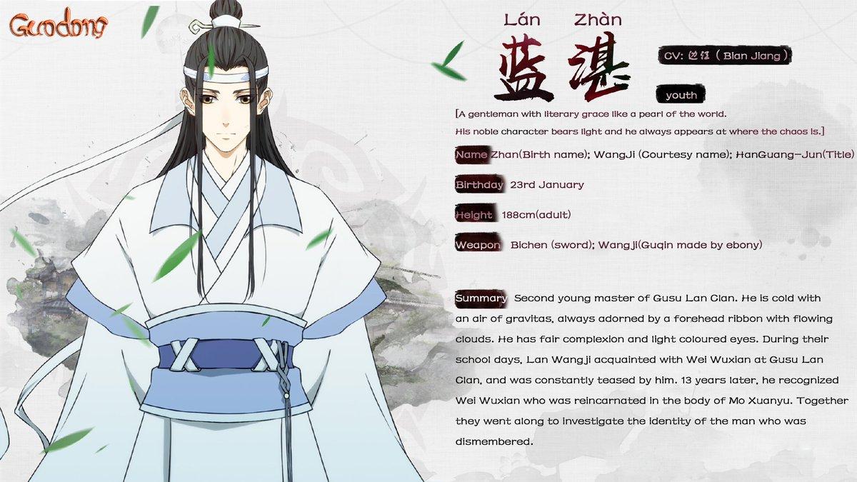 Grandmaster of Demonic Cultivation - Lan Wangji