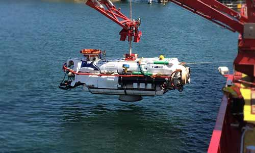 Indian Navy inducts Deep Submergence Rescue Vessel for distressed Submarines Photo