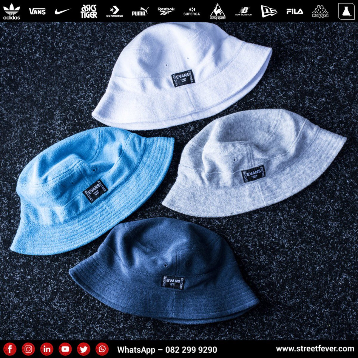 Streetfeverofficial On Twitter The Evansculturesa Bucket Hat Is Your Streetwear Essential Keep Out The Sun This Weekend While Staying On Top Of Your Style Game Streetfeverofficial Evans Evansculture Headwear Bucket Har Style