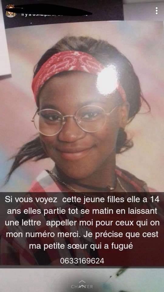 Une jeune fille a disparu de Vendée pour allez sur Marseille apparement aidez nous svp.#om #TeamOM #Marseille #DISPARITIONINQUIÉTANTE Partagez un max la photo merci  - FestivalFocus