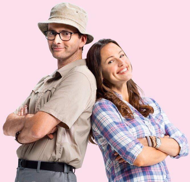 David Tennant and Jennifer Garner - Camping