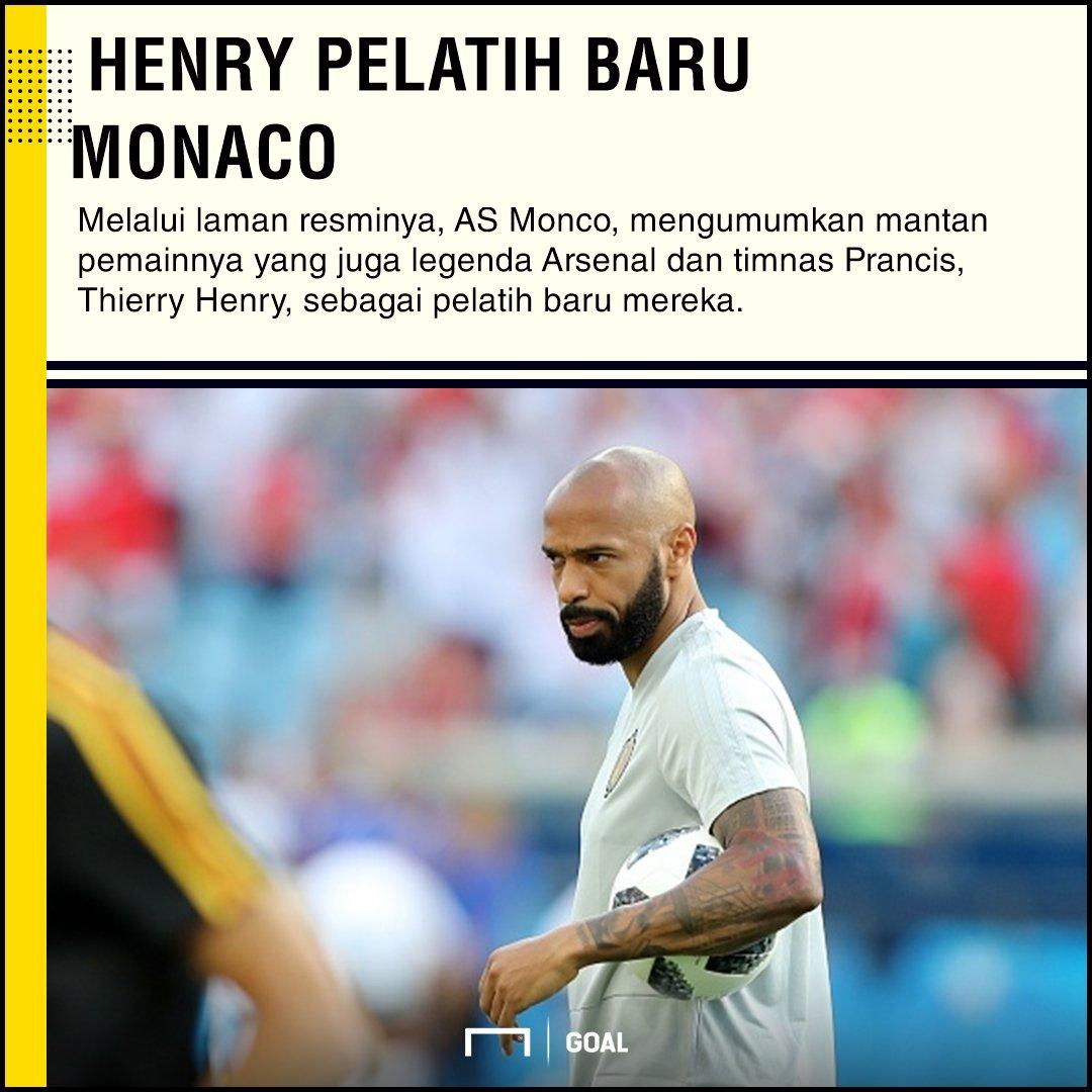 RESMI: Thierry Henry Pelatih Baru AS Monaco https://t.co/3PDy6TOm18 https://t.co/itbYs14W1n