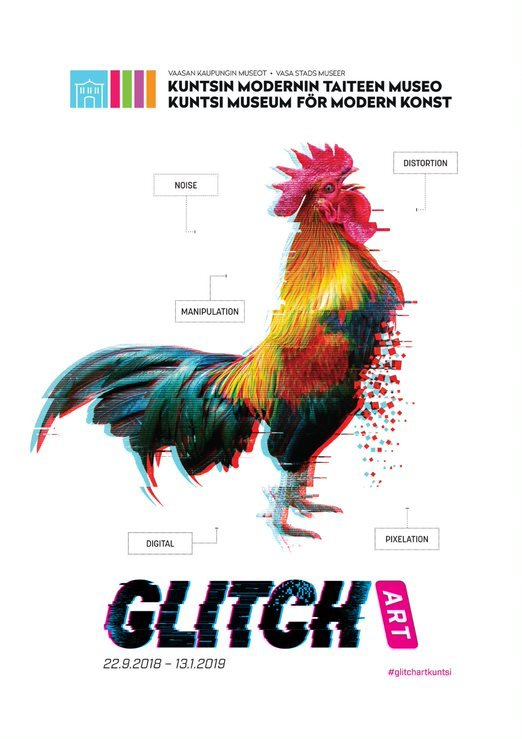 To my followers who happen to be in the vicinity of Vaasa, Finland: The Kuntsi Museum of Modern Art is running a Glitch Art exhibition. The exhibition includes, among others, a curated collection of early computer viruses. See https://t.co/07xnAw92Nh