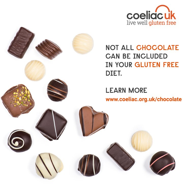 Coeliacuk On Twitter Is Chocolate Gluten Free Not All