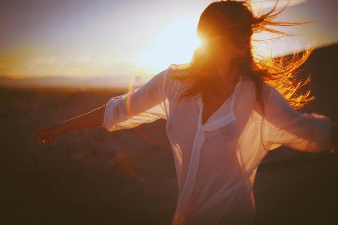 Para ser YO MISMA siempre Para evolucionar en lo q crea necesario A fin de LIBRE!!! #FelizFinde Photo