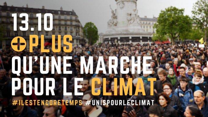 Tous ensemble ! ♻️🚶🏼♀️🌍 #MarchePourLeClimat Photo