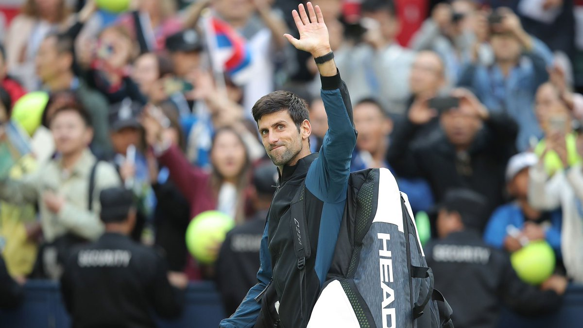 Waving hello to World No. 2   @DjokerNole will surpass Roger Federer when the newest #ATP Rankings are released on Monday. Do you think Novak will finish the year at No. 1?  Read More:  https:// bit.ly/2CHA9sG  &nbsp;  <br>http://pic.twitter.com/86MHTN82TQ