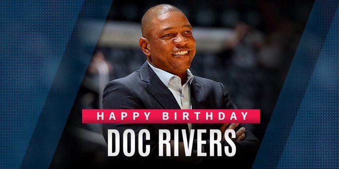 Happy Birthday to Head Coach Doc Rivers!