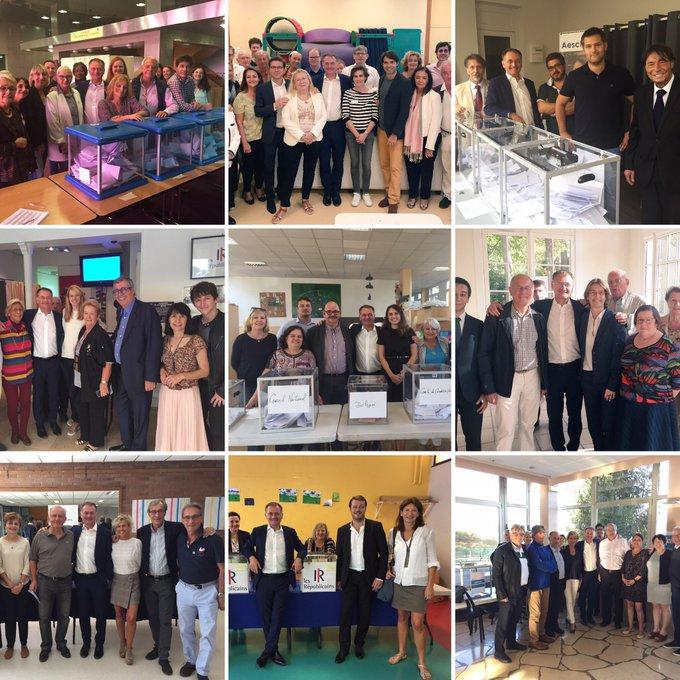 Un véritable plaisir d'avoir fait le tour des 16 bureaux de vote des #ElectionsInternes2018 dans les Hauts-de-Seine @lesRep92 @lesRepublicains ! 🏁🚘 Un immense MERCI aux bénévoles qui ont tenu nos bureaux pendant 8h 👏 Photo