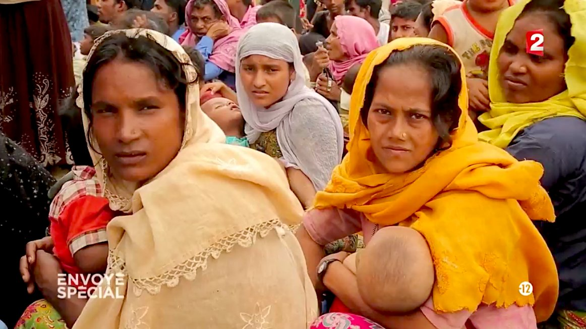 """Félicitations @nicolabertran et @thomasdonzel 1er prix catégorie Télévision Grand Format @PrixBayeux pour leur reportage """"Rohingyas, les damnés de Birmanie"""" (@webscam) #PBCN2018 #EnvoyeSpecial   - FestivalFocus"""