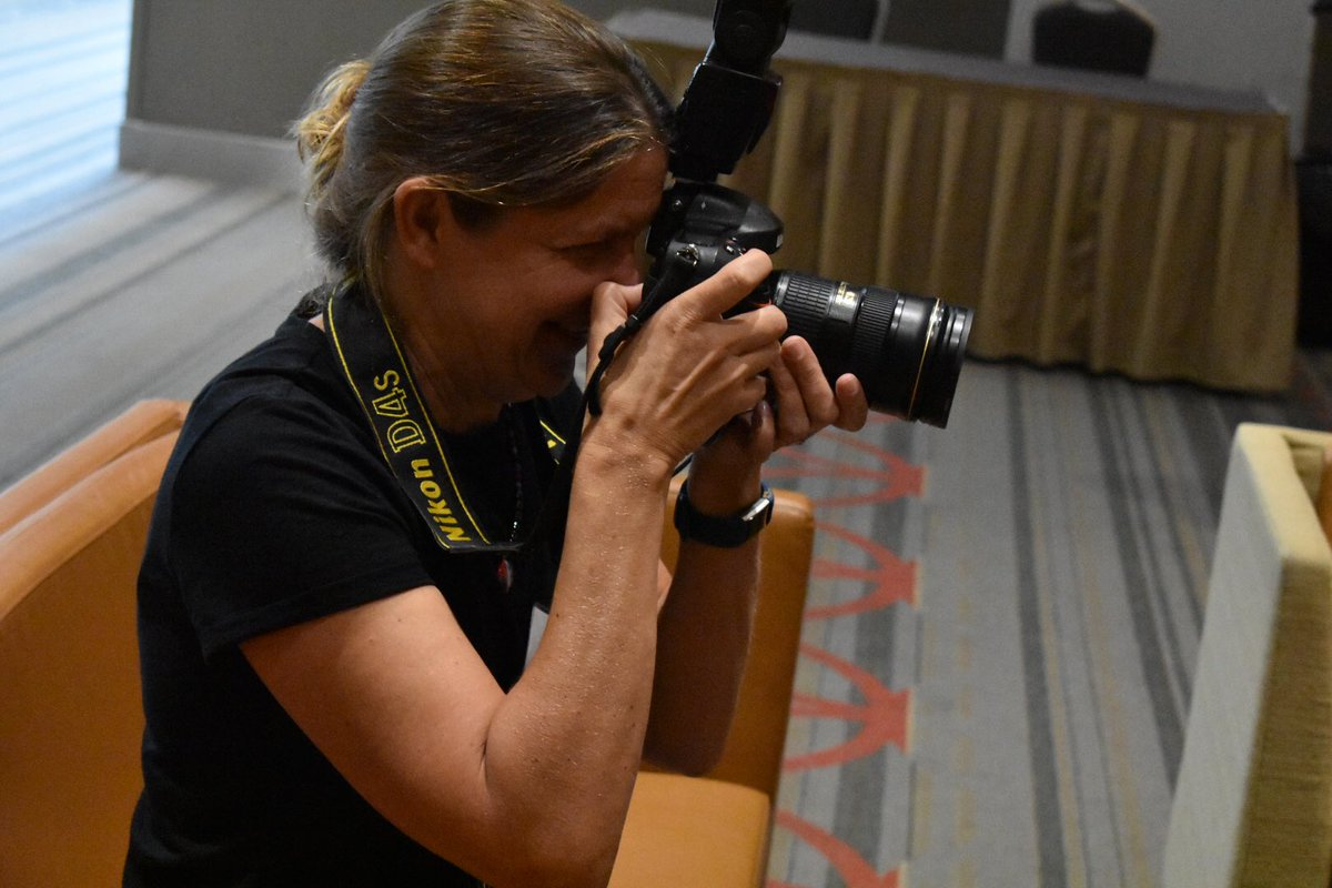 Special shout out to @SACNAS photographer extraordinaire @LisaHelfert! Thank you for using your gift to capture all the beautiful moments created at #SACNAS2018! We appreciate you! <br>http://pic.twitter.com/h8nxErEklm