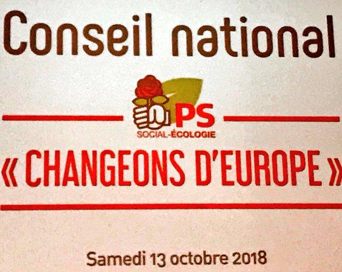 Quelle journée ! Sur le chemin de la #renaissance des socialistes, il y aura un avant et un après ce Conseil National du 13 octobre. #CNPS L'union est un combat. Aujourd'hui le Premier Secrétaire @faureolivier a démontré qu'il savait gagner ces batailles-là. Photo