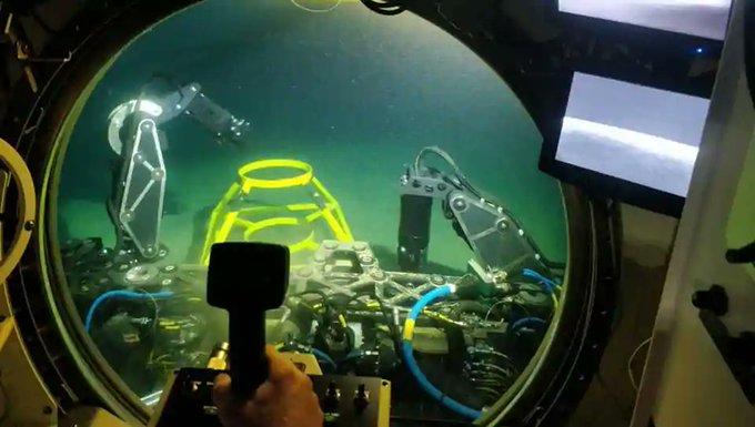 Indian Navy acquires deep submarine rescue capabilities Photo