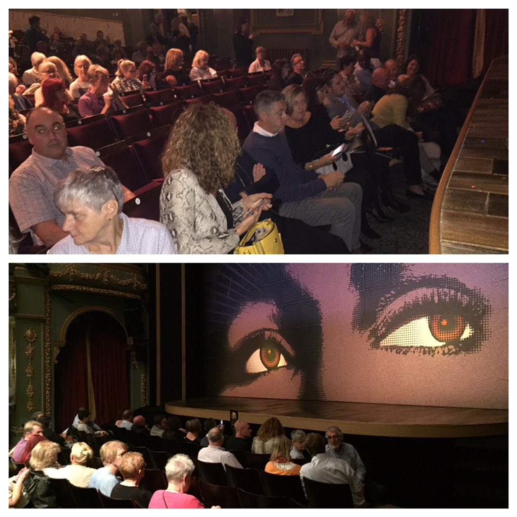 """After an excellent lunch at the @WaldorfHilton_ my clients @Jewson @SaintGobainUK are absolutely delighted with their """"front row seats"""", now about to watch @TinaTheMusical at @aldwychtheatre. Dining tonight at @ChristophersWC2 #anothersuccessfulevent"""