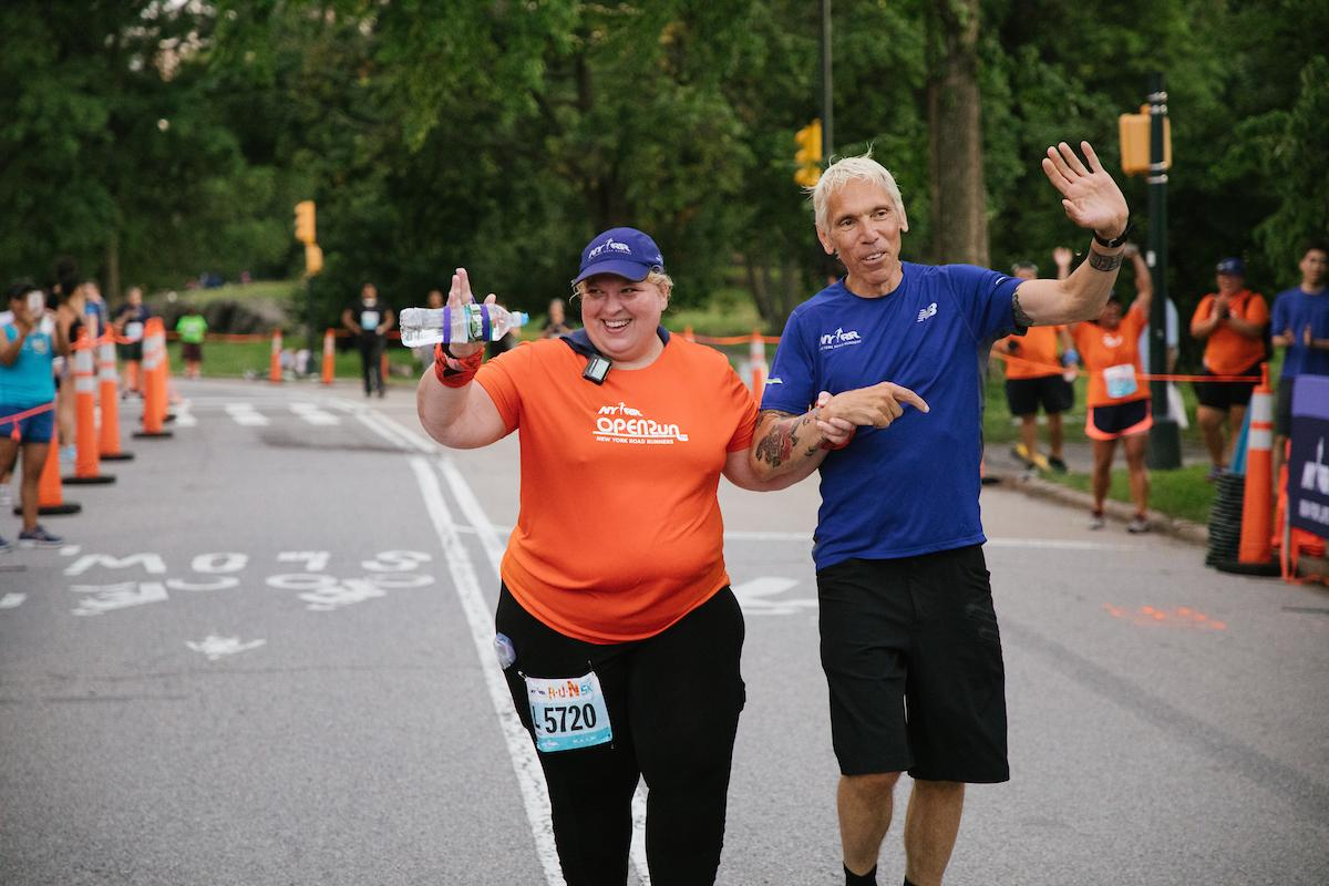 🌟Volunteer Janelle Hartmans face is a familiar for NYRR runners. But something else is really special about her: shes usually the final finisher at NYRR races. This year, shes running to greet @peter_ciaccia one last time! Read more here: bit.ly/2yg48UF.