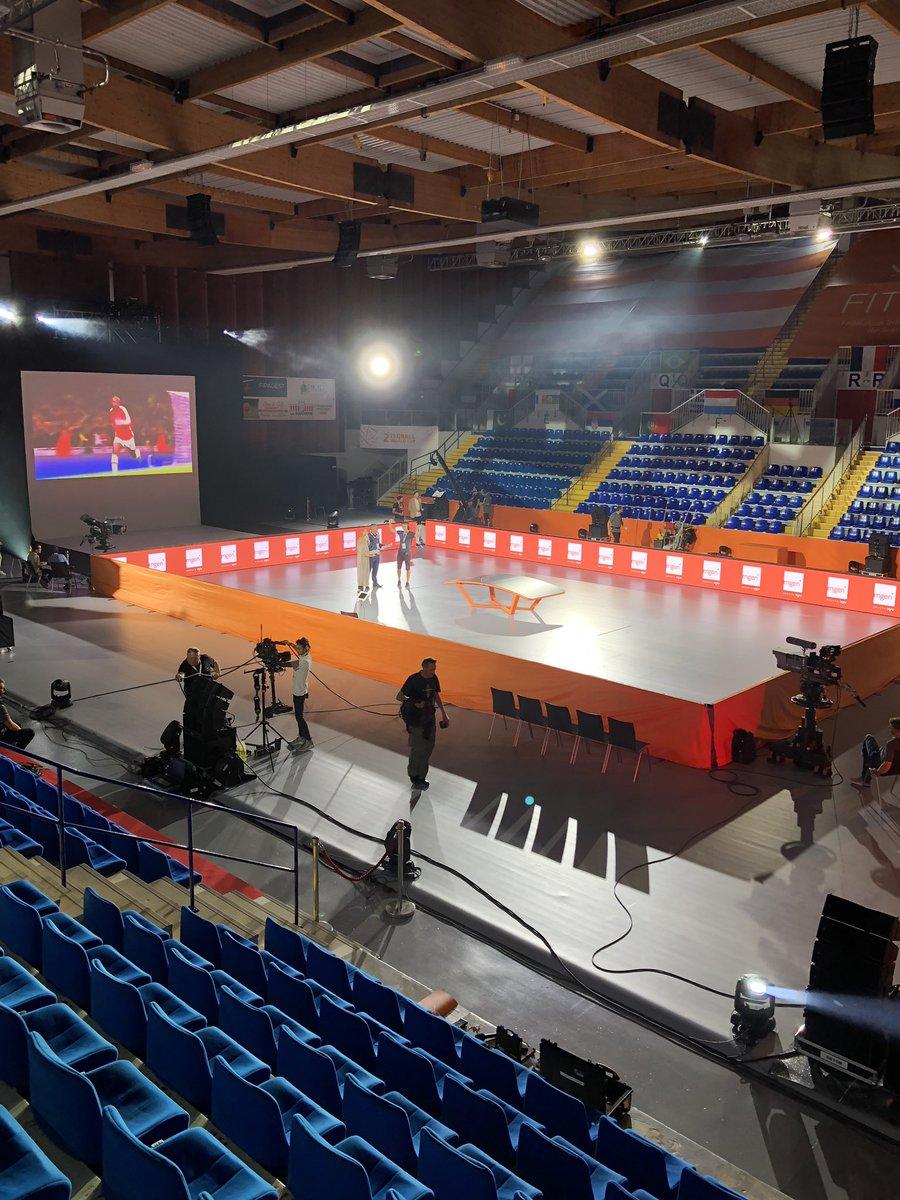 2nd teqball WORLD Cup à Reims en live streaming à 16.00#worldcup #stephanepauwels #anneruwet #TeqballWorldCup #Teqball #reims  - FestivalFocus