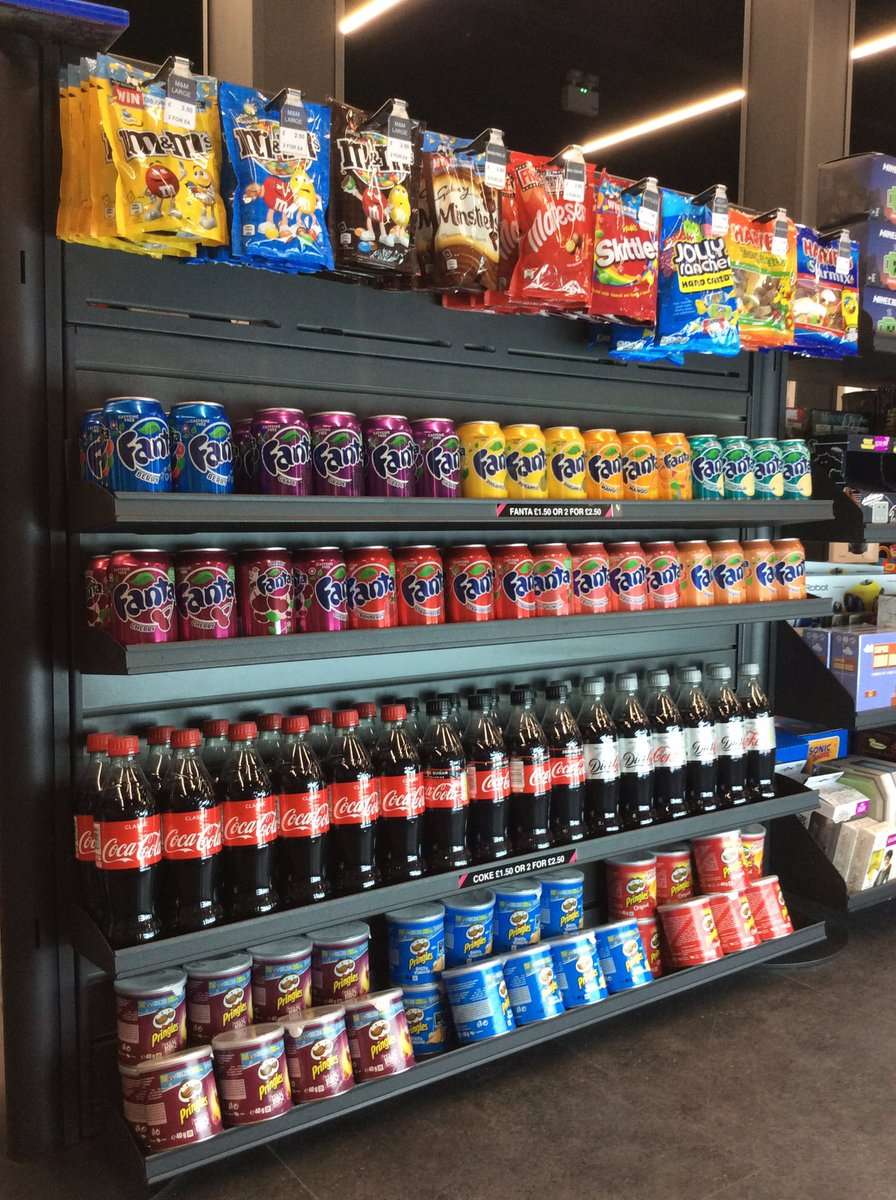 Look at all our great tasting #Fanta flavours available at our new store located inside Sports Direct at Lakeside Retail Park, come and check them out! #sweettooth @BelongLakeside @GAMELakeside<br>http://pic.twitter.com/o0LeagwC9t